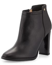 Jimmy Choo Hart Grained Leather Ankle Boot Black