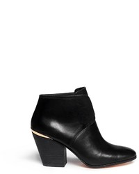 Cole Haan Hayden Vachetta Leather Ankle Boots