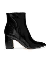 Sam Edelman Hilty Patent Leather Ankle Boots