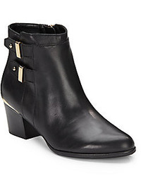 Isaac Mizrahi Justice Leather Ankle Boots