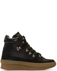 Isabel Marant Black Brent Hiking Boots