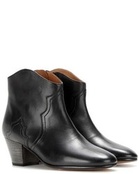 Etoile Isabel Marant Isabel Marant Toile Dicker Leather Ankle Boots