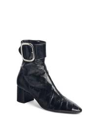 Saint Laurent Joplin Genuine Eelskin Bootie