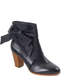 Kate Spade New York Tracee Leather Bow Ankle Boots
