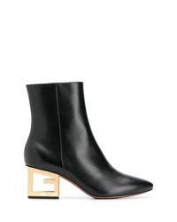 Givenchy Logo Heel Boots
