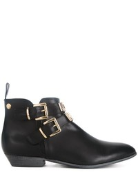 Love Moschino Buckled Ankle Boots