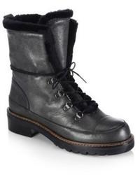 Stuart Weitzman Luge Leather Booties