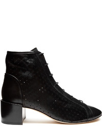Acne Studios Mable Perforated Leather Ankle Boots