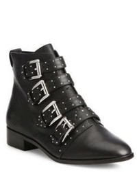 Rebecca Minkoff Maddox Buckle Leather Booties