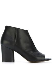 Maison Margiela Open Toe Ankle Boots