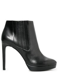 Mango Outlet Outlet Faux Leather Ankle Boots