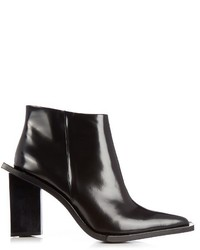 MARQUES ALMEIDA Marquesalmeida M And A Letter Heel Leather Ankle Boots