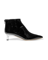 Rejina Pyo Marta Patent Leather Ankle Boots