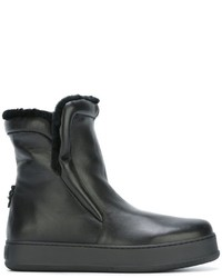 Max Mara Shearling Lined Ankle Boots