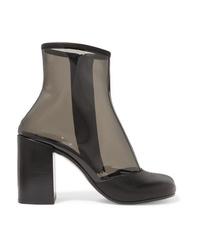 MM6 MAISON MARGIELA Med Pvc Ankle Boots