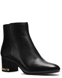Michael Kors Michl Kors Sabrina Leather Ankle Boot