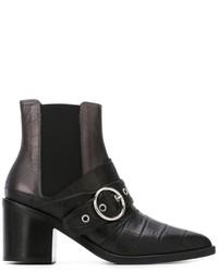 MM6 MAISON MARGIELA Buckle Detail Ankle Boots