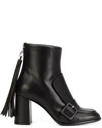 MSGM Tassel Detailing Ankle Boots