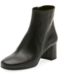 Prada Napa 55mm Block Heel Boot Black