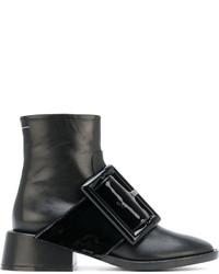 MM6 MAISON MARGIELA Oversized Buckle Ankle Boots