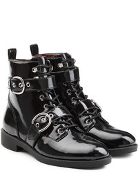 Marc Jacobs Patent Leather Ankle Boots