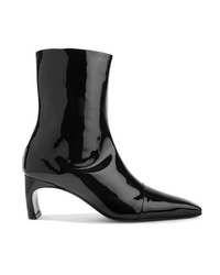 Rosetta Getty Patent Leather Ankle Boots