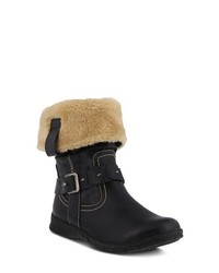 Spring Step Peeta Water Resistant Faux Fur Boot