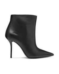 Saint Laurent Pierre Leather Ankle Boots