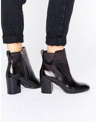 Aldo Quria Heeled Leather Ankle Boots