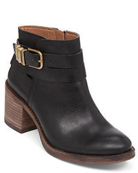 Lucky Brand Raisa Leather Ankle Boots