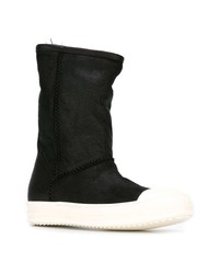 Rick Owens Round Toe Boots