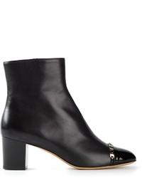 Salvatore Ferragamo Nao C Ankle Boots
