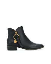 See by Chloe See By Chlo Coin Zipped Booties