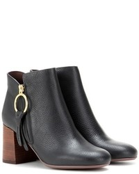 See by Chloe See By Chlo Leather Ankle Boots
