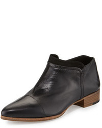 Alberto Fermani Serafina Leather Ankle Boot Nero