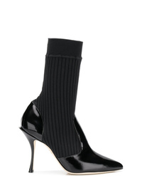 Dolce & Gabbana Sock Ankle Booties