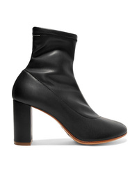 MM6 MAISON MARGIELA Stretch Leather Sock Boots