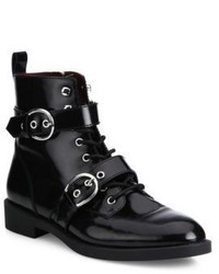 Marc Jacobs Taylor Double Strap Leather Booties