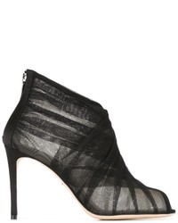 Dolce & Gabbana Tulle Booties