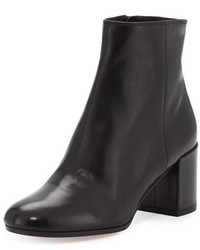 Vince Blakely Leather Ankle Boot Black