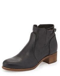 Alberto Fermani Viola Tabbed Leather Ankle Boot