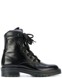 Saint Laurent William 25 Front Zip Boots