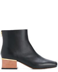 Marni Wooden Block Heel Boots