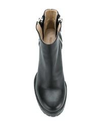 Diesel Zip Heeled Ankle Boots
