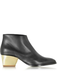 Zoe Lee Eastwood Black Leather Ankle Boot