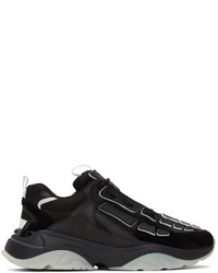 Amiri Black Bone Runner Sneakers