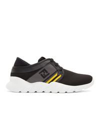 Fendi Black Forever Running Sneakers