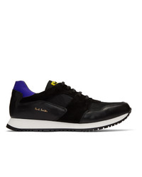 Paul Smith Black Pioneer Sneakers