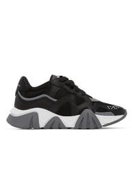Versace Black Squalo Sneakers