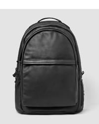 AllSaints Flight Leather Rucksack Bag
